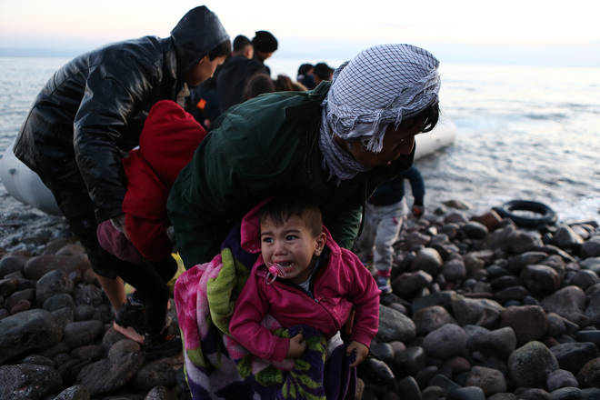 At least five boats have reached Greek shores, carrying around 200 people