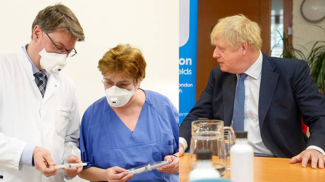 Calling up an army of retired doctors and nurses is one measure Boris Johnson will announce