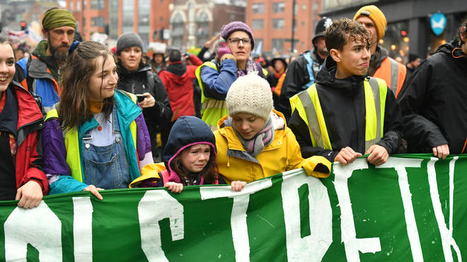 The survey found children do not trust adults to deal with climate change