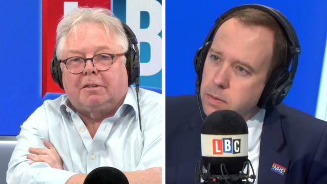Nick Ferrari grilled Matt Hancock over putting retired doctors at risk