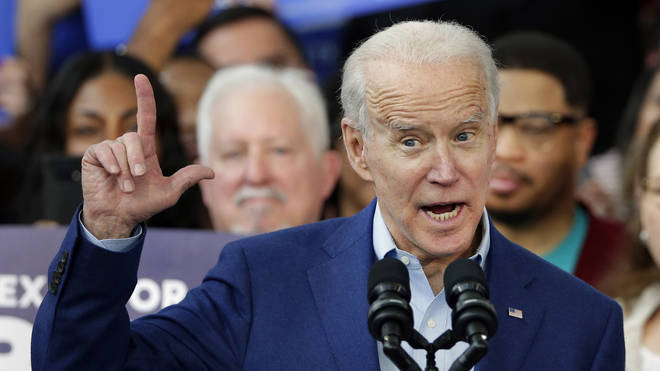 Joe Biden is seen as the most likely candidate to compete with Bernie Sanders