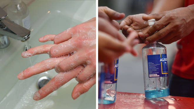 Do anti-bacterial hand gels work to stop coronavirus?