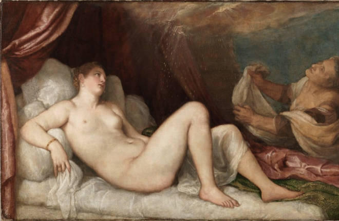 One of Titian's paintings which has fallen foul of Twitter's rules