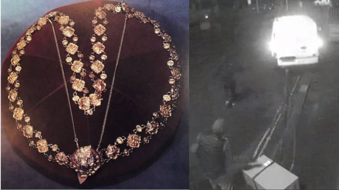 Police have launched an appeal after Lord Mayor's Chains stolen
