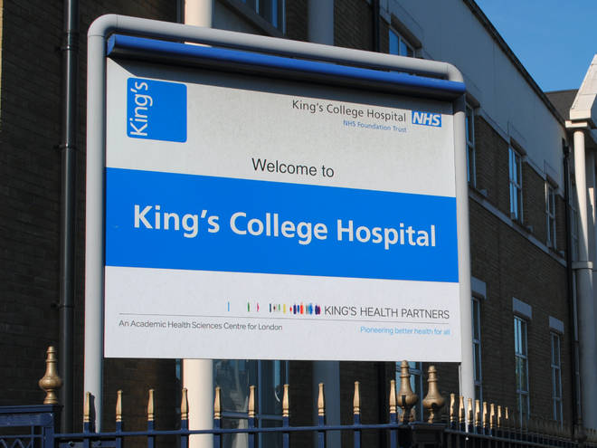 King's College Hospital is in partial lockdown after two patients tested positive for coronavirus