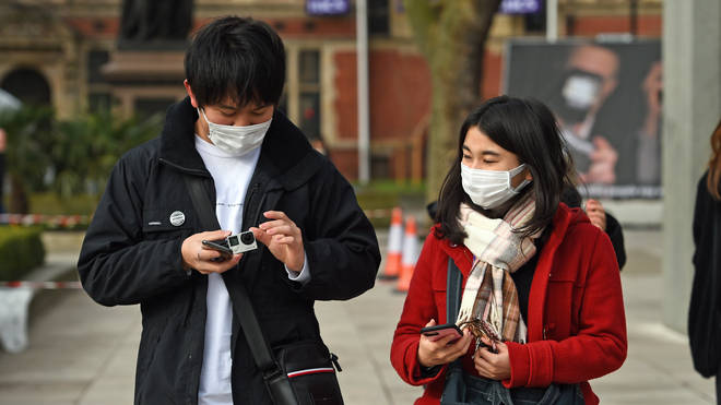 Masks are increasingly being worn in public