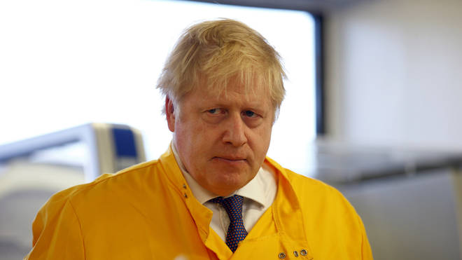Boris Johnson is encouraging people to wash their hands