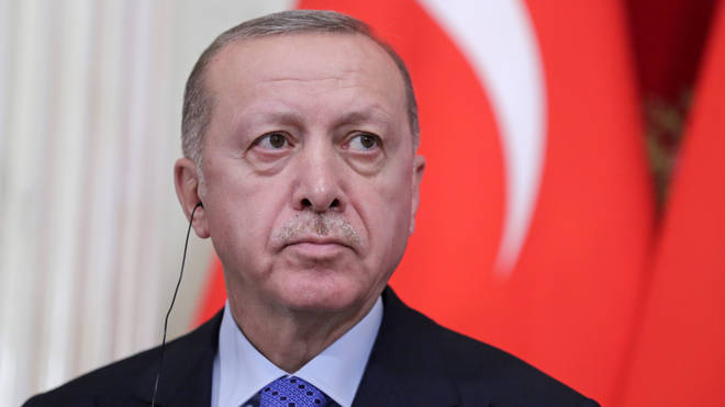 Mr Erdoğan voiced his hope for a resolution to the fighting