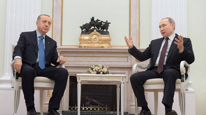 Turkey and Russia have effectively been fighting a proxy war in Syria