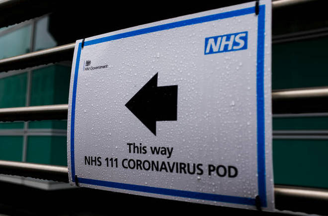 Coronavirus cases have surged past 100 today.