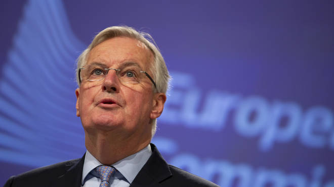 Michel Barnier warned about differences between the UK's and the EU's trade positions