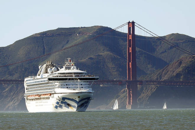 Brits are stranded on a second coronavirus-stricken Princess cruise ship off the Californian coast