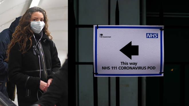 The NHS has taken special precautions with the public increasingly wearing face masks