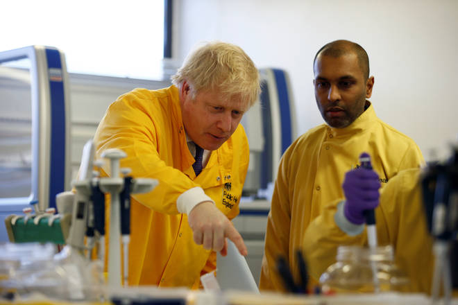 Boris Johnson made the pledge on Friday