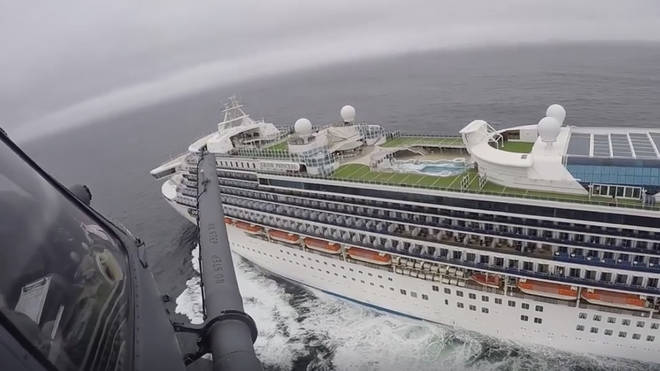 21 people on the Grand Princess have tested positive for coronavirus