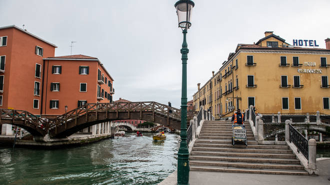 Venice was deserted amid the outbreak