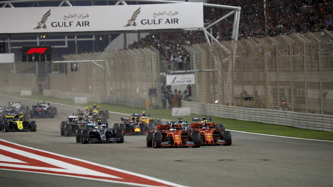 The second round of the Formula One season will take place behind closed doors
