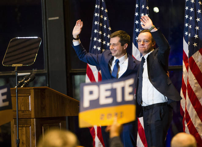 Pete Buttigieg was criticised for being a centrist by the LGBT community