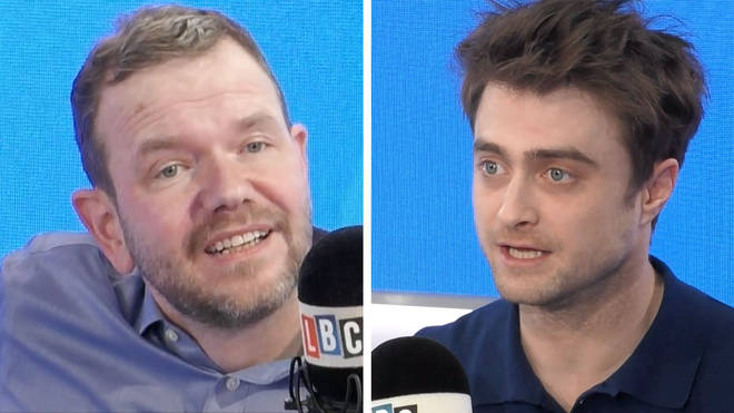 James O'Brien spoke to Daniel Radcliffe
