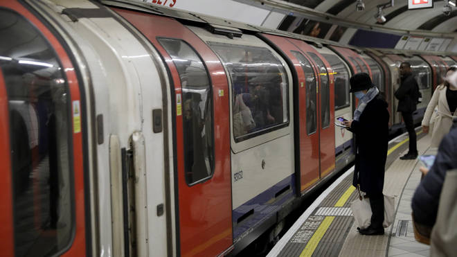 A Tube worker has been diagnosed with coronavirus
