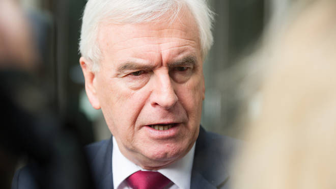 The shadow chancellor was making his last speech in the role before moving to the backbenches