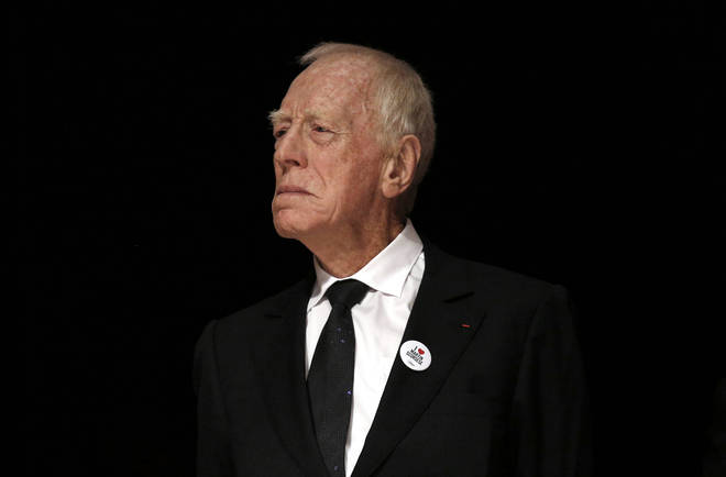 Max von Sydow died at his home in France on Sunday