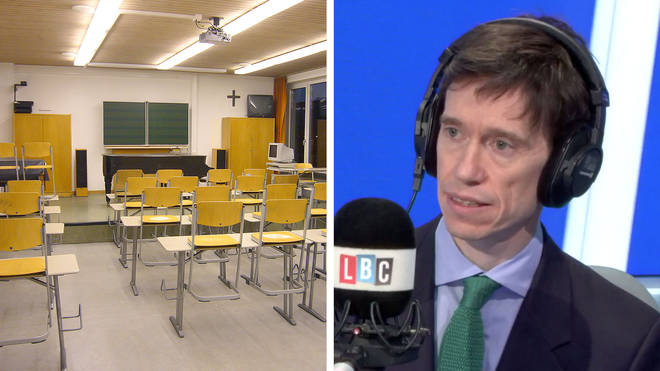 Rory Stewart would close schools to slow the spread of coronavirus