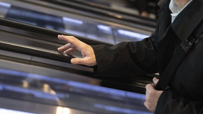 Is it safe to touch surfaces in public?