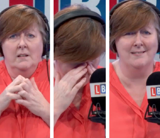 Shelagh Fogarty's fear of snakes became very apparent during an RSPCA interview