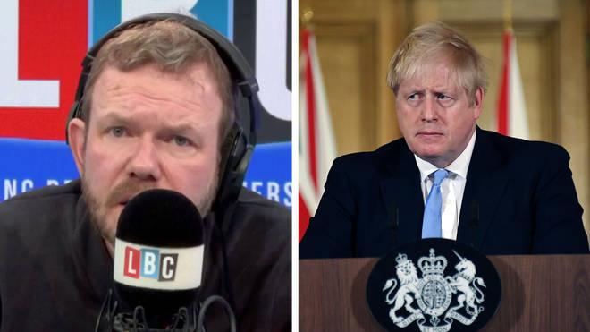 James O'Brien spoke about Boris Johnson's response to coronavirus