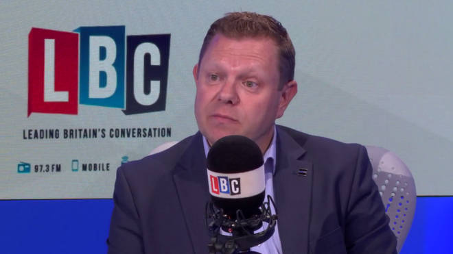 The new head of the Police Federation John Apter