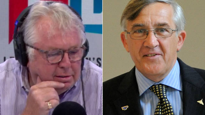 Sir Gerald Howarth had lots to say about Boris's burka comments