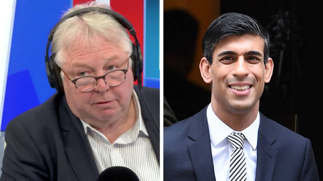 Nick Ferrari heard why Rishi Sunak is planning a £600bn Budget spending spree