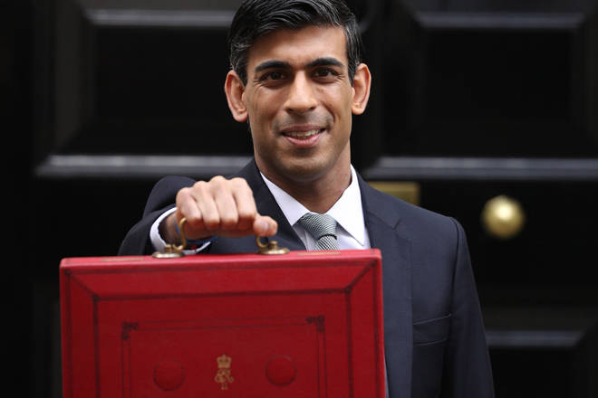 Chancellor Rishi Sunak presents the annual budget