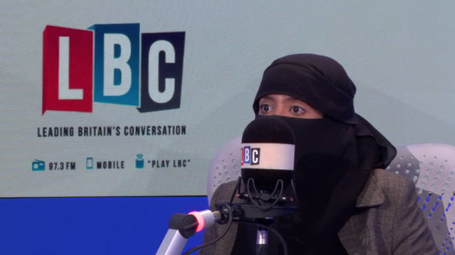 Sahar Al-Faifi insists the face veil is not oppressive