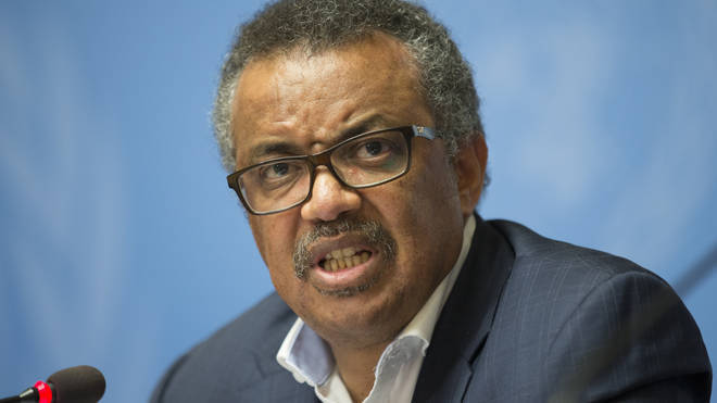 Tedros Adhanom Ghebreyesus has also slammed governments for not doing enough to stem the spread