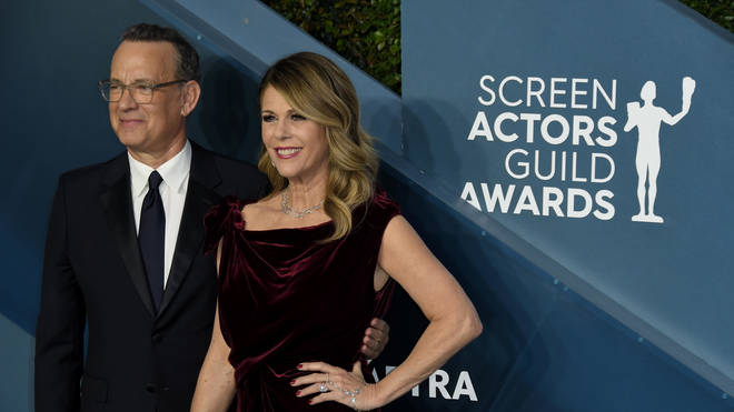 The pair have been in Australia while Mr Hanks films a biopic about Elvis Presley