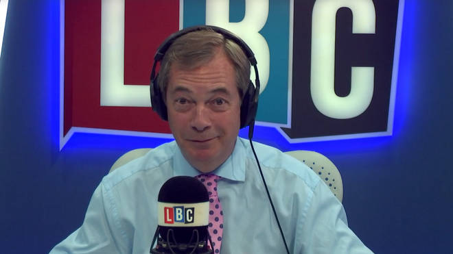 Nigel Farage denied he intended to start a new political party