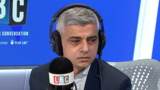 Sadiq Khan was very touched by Dame Sally's call