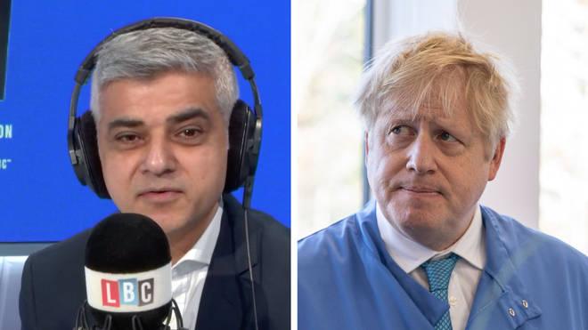 Sadiq Khan praised Boris Johnson's response to coronavirus