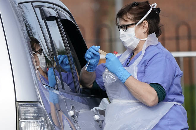 Drive-Through Coronavirus Test Site Established In Wolverhampton