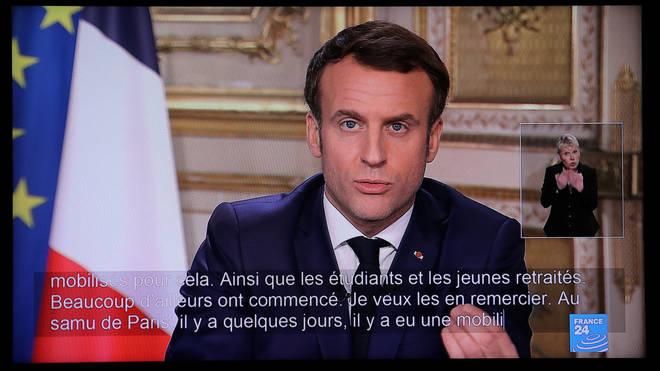 President Emmanuel Macron has announced all schools will close