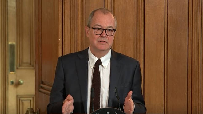 The UK's chief scientific adviser Sir Patrick Vallance says it's important to build up an immunity among the population