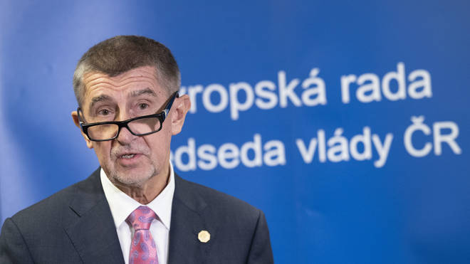 Czech Prime Minister Andrej Babiš made the announcement to close borders on Friday