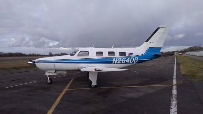 The Piper PA-46-310P Malibu, N264DB, which carried Sala