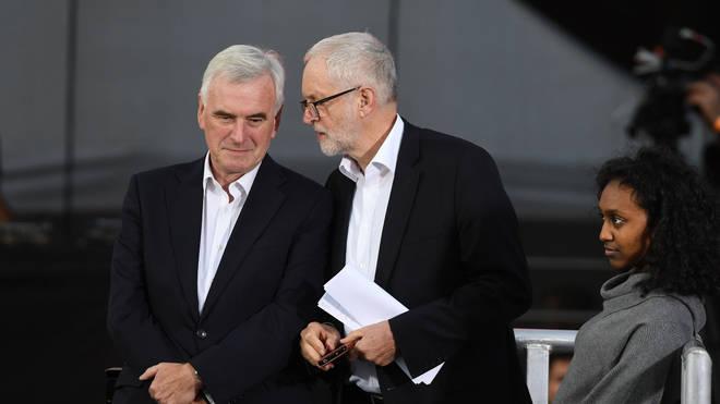 Jeremy Corbyn with John McDonnell