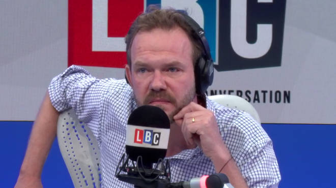 A teary, angry James O'Brien discussing abuse at Ampleforth school
