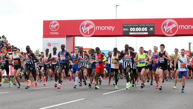 The London marathon was earlier postponed until October due to the outbreak