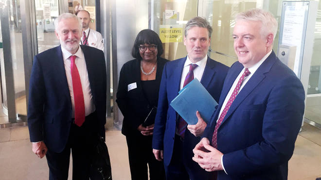 Keir Starmer and Diane Abbott were high on the list