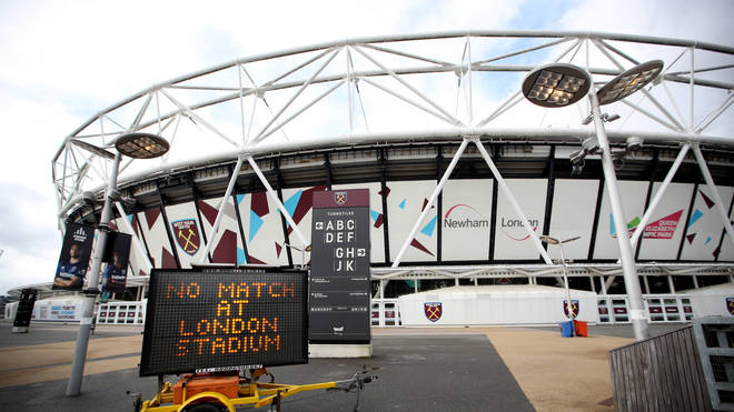 "West Ham vice-chairman Karren Brady has called for the Premier League season to be made ""null and void"""